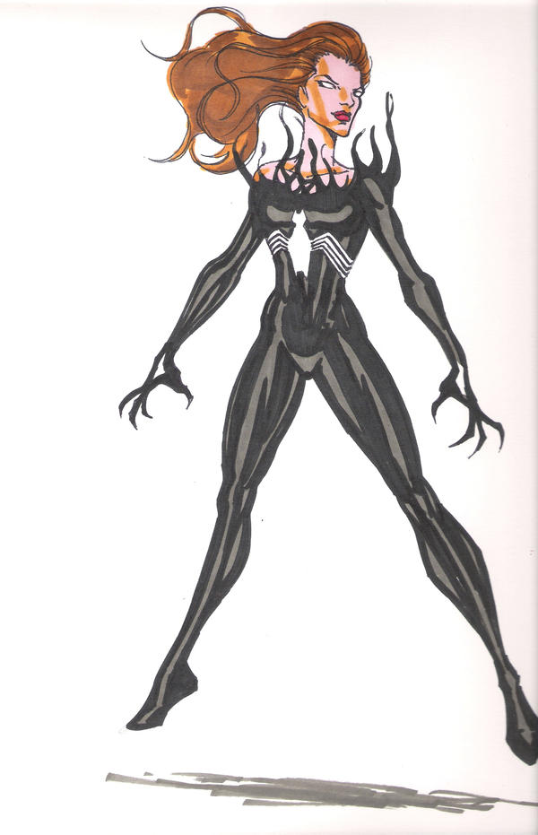 My she Vonom character by josh627