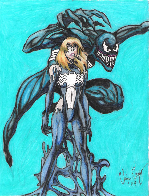 She venom Gwen by josh627