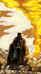 BvS Dawn of Justice Knightmare Batman by ahbe87