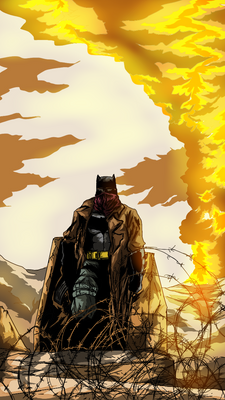 BvS Dawn of Justice Knightmare Batman