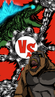 Godzilla Vs Kong - Heaven Or Hell, Lets Rock!!! by ahbe87
