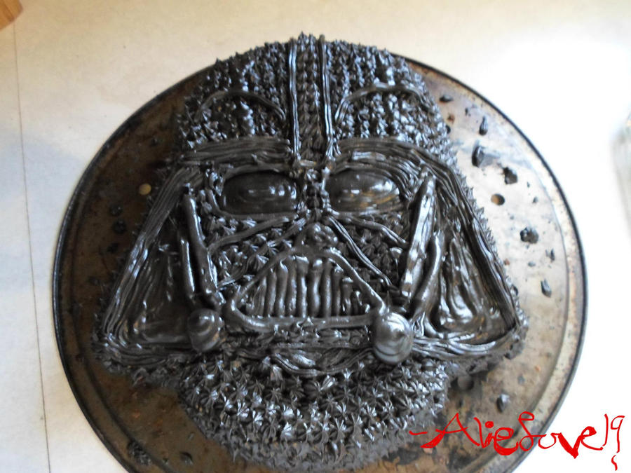 Darth Vader Cake by Alielove19