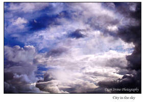 City in the sky by Dean-Irvine