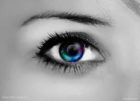eye of the nebula by Dean-Irvine