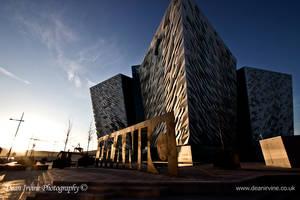 Sunset ship by Dean-Irvine