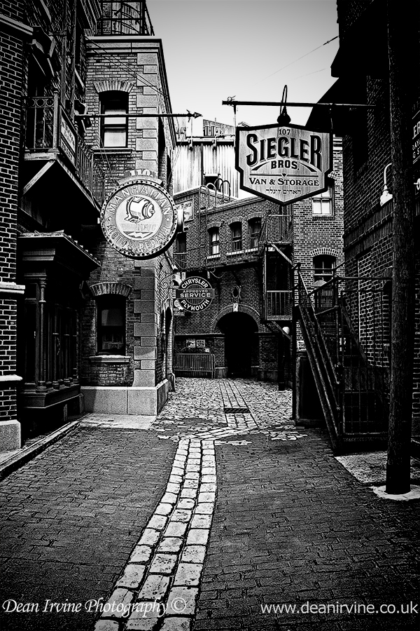 Back ally street by dean irvine on deviantart for 18 8 salon irvine