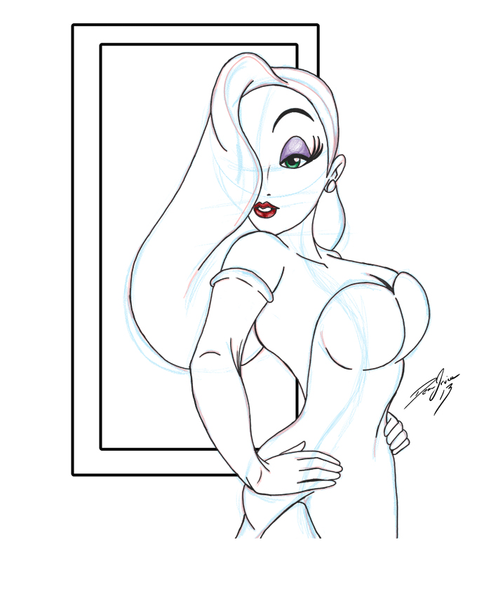 Jessica sketch by Dean-Irvine