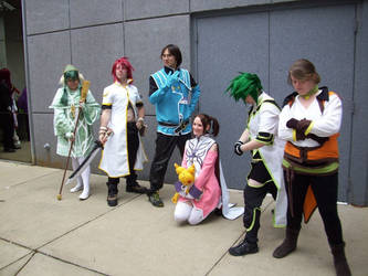 Cosplay 2012 - Tales of the Abyss, Anise Tatlin by chalicity