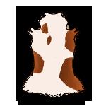 Piebald Brocket Deer Hide by ReapersSpeciesHub