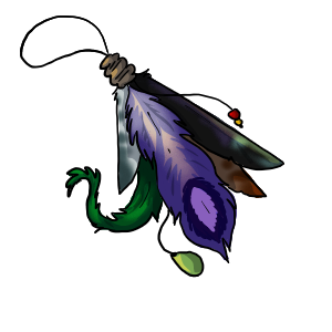 Feather Charm by ReapersSpeciesHub
