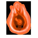 Orange Wisp by ReapersSpeciesHub