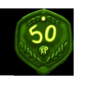 50 XP Plaque by ReapersSpeciesHub