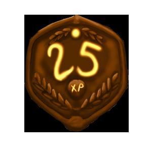 25 XP Plaque by ReapersSpeciesHub