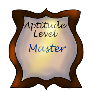Aptitude Level: Master by ReapersSpeciesHub