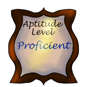 Aptitude Level: Proficient by ReapersSpeciesHub