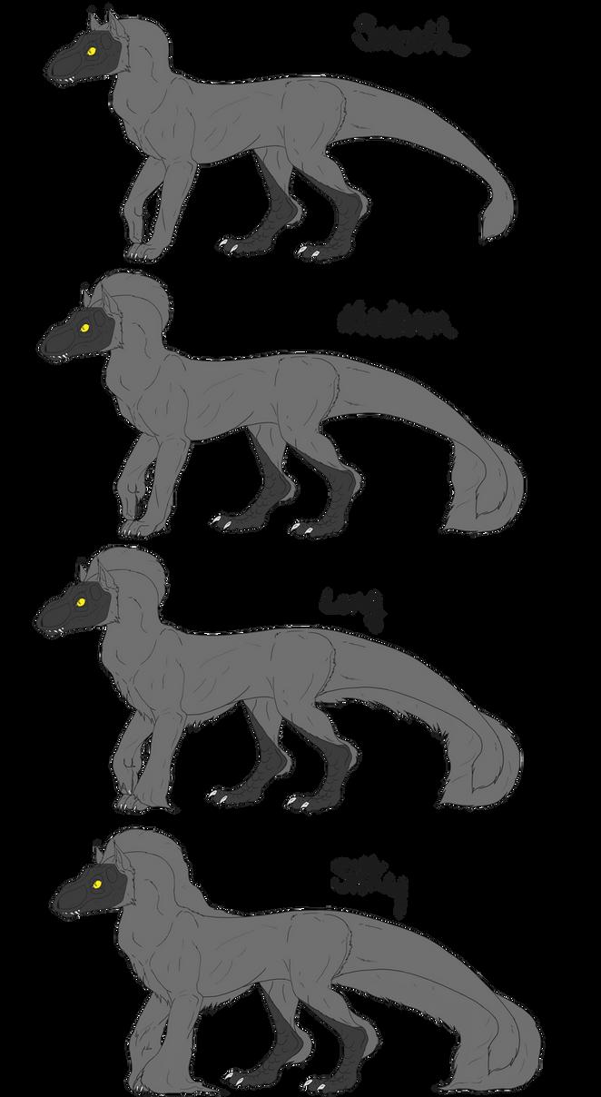 Draft Sindow Coat Types by ReapersSpeciesHub