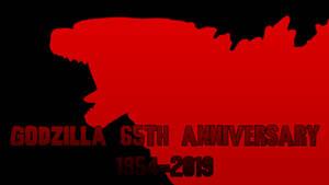 Godzilla 65th Anniversary 1954-2019