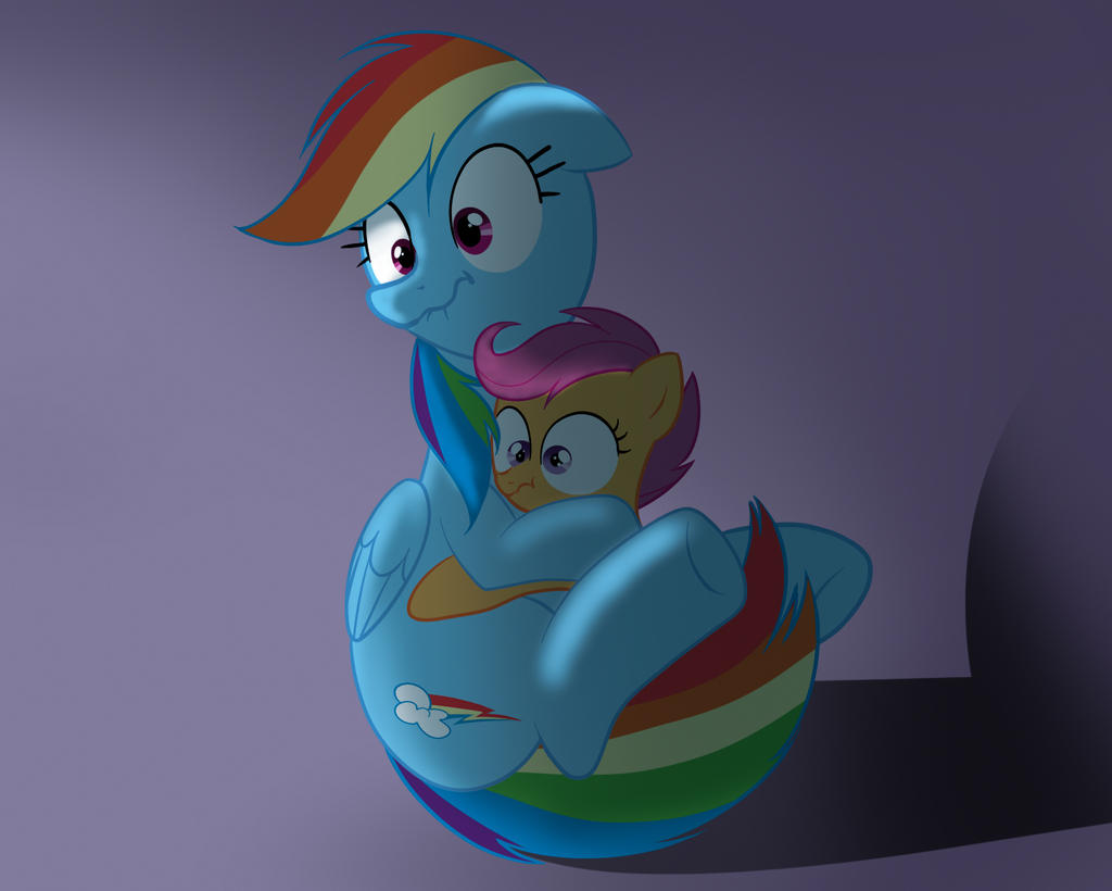 Rainbowdash And Scootaloo Will Re Scared What The By Zigrock001 On Deviantart Scootaloo seeking guidance (pixel art). re scared what the by zigrock001
