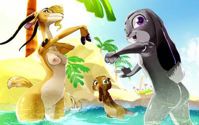 Summer is Coming. Zootopia by zigrock001