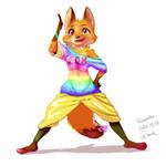 Original character Fox Girl HIKARI