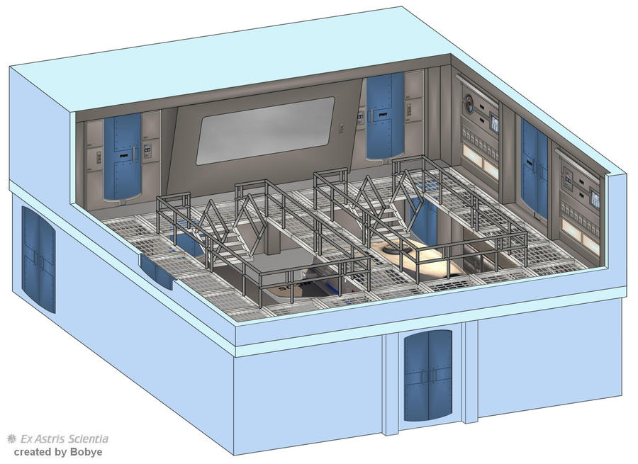 Enterprise NX 01 Launchbay 490975743 on Star Trek Deep Space Nine Interior