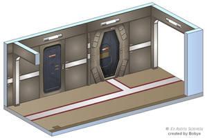 USS Defiant - Corridor