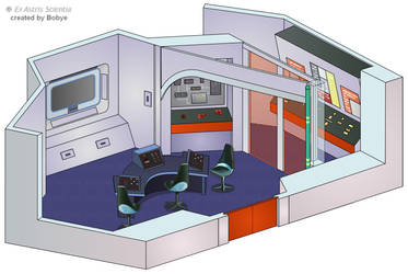 Enterprise NCC-1701 - Auxiliary Control Room by bobye2