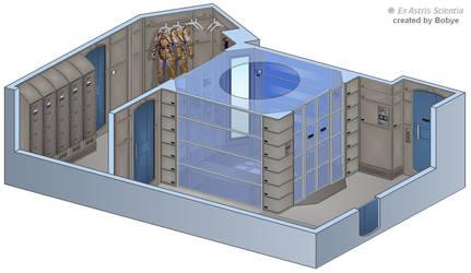 Enterprise NX-01 Decontamination Chamber by bobye2