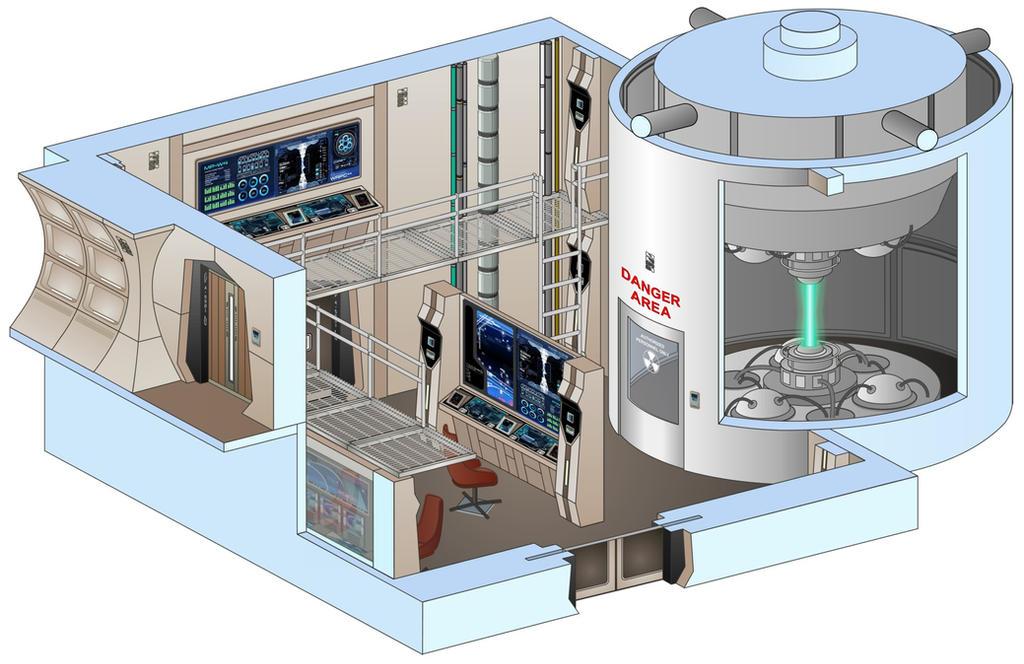 Defiant Engine Room Set