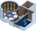 USS Odyssey - Transporter room by bobye2