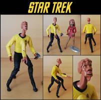 Star Trek TOS/TAS - Custom action figure Arex by bobye2