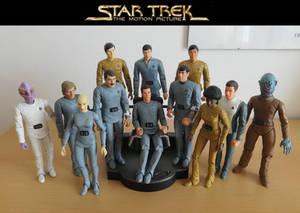 TMP crew - Custom action figures DST