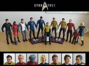Star Trek: Into Darkness - Diamond Select customs