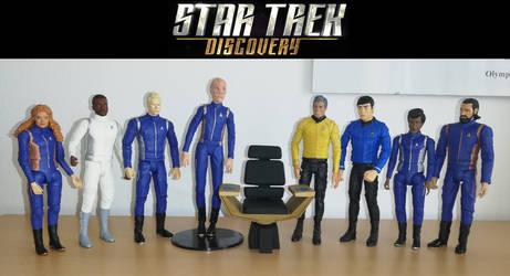 Star Trek Discovery - custom NECA/DST figures