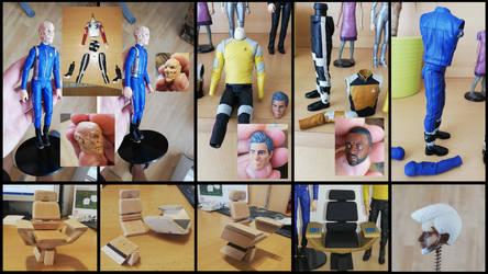 Star Trek Discovery - creating custom figures