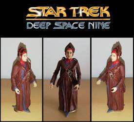 Star Trek DS9: Custom Vedek Winn action figure DST
