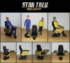 Star Trek Discovery (DST scale) captain's chair