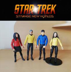 Star Trek: Strange New Worlds - custom DST figures