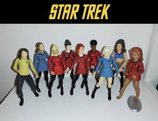 Star Trek TOS - Art Asylum Women Action figures