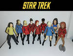 Star Trek TOS - Art Asylum Women Action figures by bobye2