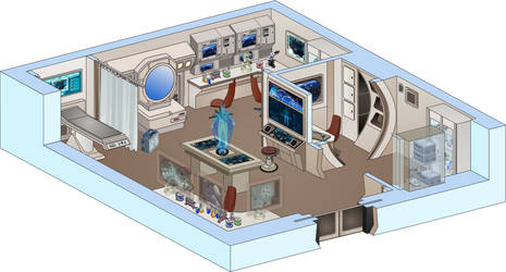 USS Saratoga - Medical Lab