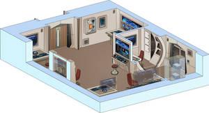 USS Saratoga - (Configurable) Lab