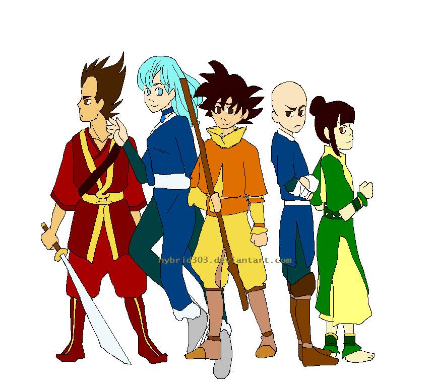 Avatar Dragon: Atla X Dbz By Lndzbrdn On DeviantArt