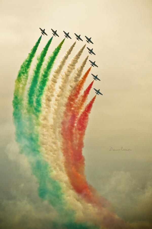 Frecce Tricolori by Dynnnad