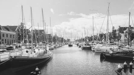 Harlingen Harbour by DannyRoozen