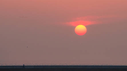 Sundown pier