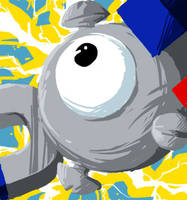 Magnemite by Capori