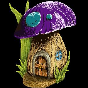 Mushroom house by AvetreMaevrin