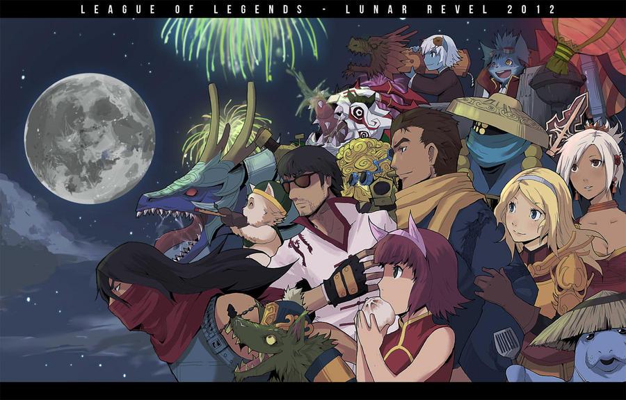 Parade of the Lunar Revel - League of Legends by ffSade