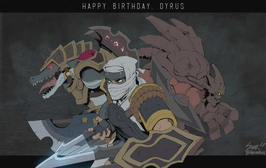 League of Legends - Gift to Dyrus 2013 by ffSade